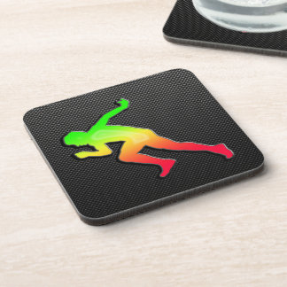 Sleek Running Beverage Coaster