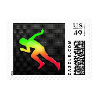 Sleek Running Stamps