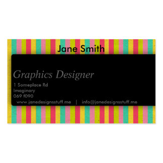 Sleek Shadow for Designers Pack Of Standard Business Cards