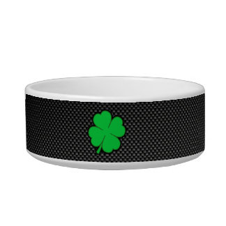 Sleek Shamrock Bowl