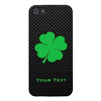 Sleek Shamrock Cover For iPhone 5