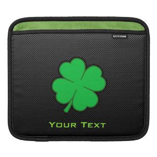 Sleek Shamrock iPad Sleeves