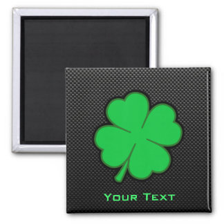 Sleek Shamrock Magnet