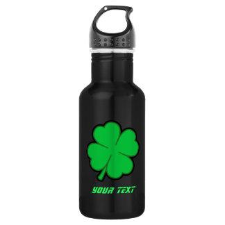 Sleek Shamrock 18oz Water Bottle