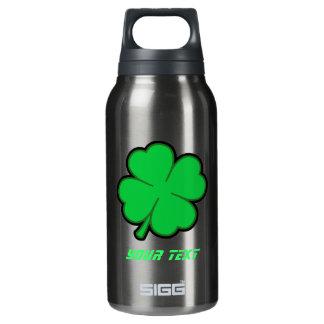 Sleek Shamrock 10 Oz Insulated SIGG Thermos Water Bottle