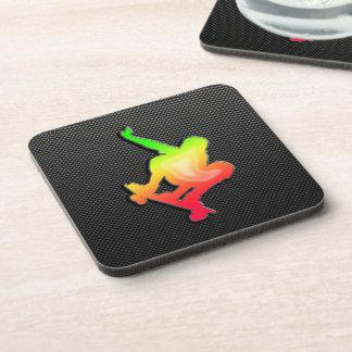 Sleek Skateboarding Coaster