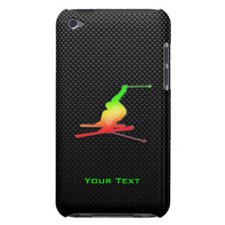 Sleek Snow Skiing Barely There iPod Case