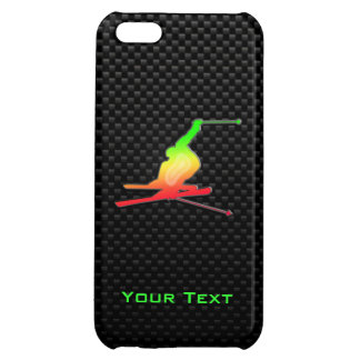 Sleek Snow Skiing iPhone 5C Covers