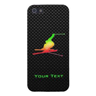 Sleek Snow Skiing iPhone SE/5/5s Case