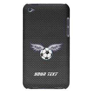 Sleek Soccer Ball Wings iPod Case-Mate Case