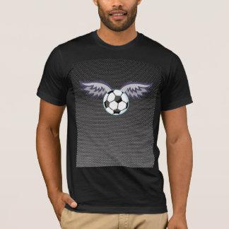 Sleek Soccer Ball Wings T-Shirt