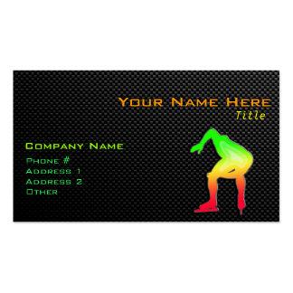 Sleek Speed Skater Business Card