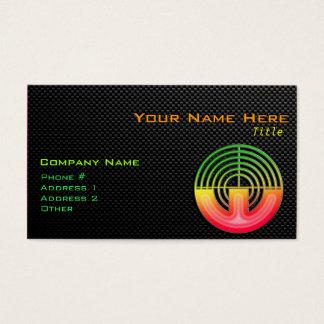 Sleek Sport Shooting Business Card