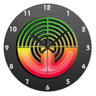 Sleek Sport Shooting Wall Clock