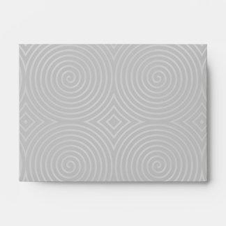 Sleek, stylish, black and white design. envelopes