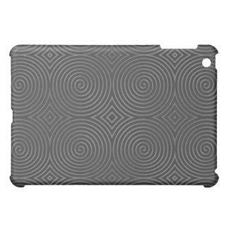 Sleek, stylish, black and white design. case for the iPad mini