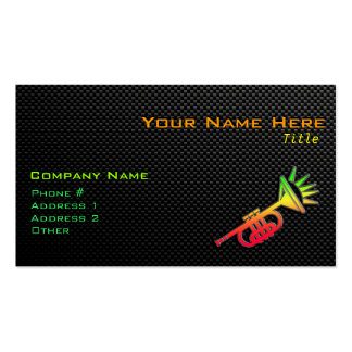 Sleek Trumpet Double-Sided Standard Business Cards (Pack Of 100)
