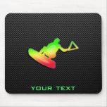 Sleek Wakeboarder Mousepad