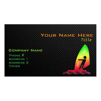 Sleek Windsurfing Business Card Templates