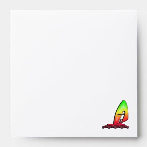 Sleek Windsurfing Envelope