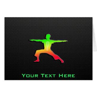 Sleek Yoga Card