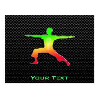 Sleek Yoga Postcard