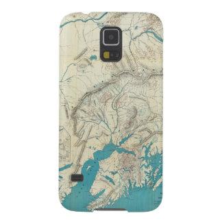 Sleem's Map of Central Alaska Galaxy S5 Case