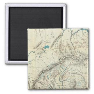 Sleem's Map of Central Alaska Magnet