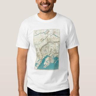 Sleem's Map of Central Alaska T-shirt