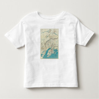 Sleem's Map of Central Alaska T Shirt