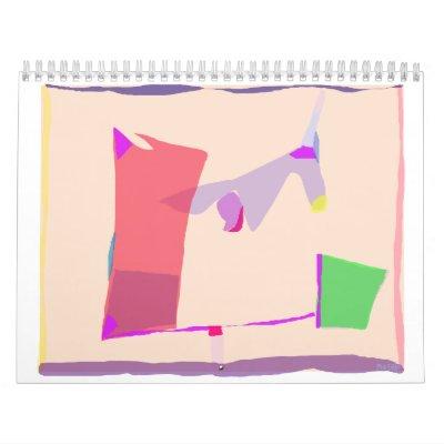 Sleep 2 wall calendars