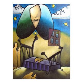 Sleep and Memories #2 Postcard