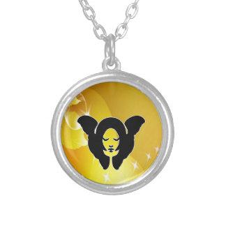 sleep angel peace joy necklace