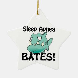 Sleep Apnea BITES Christmas Tree Ornaments