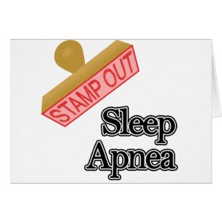Sleep Apnea Card