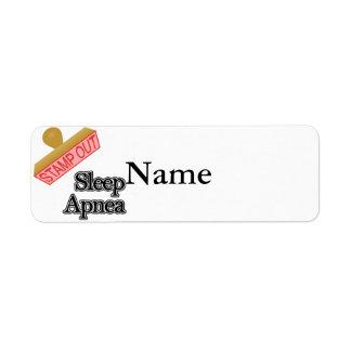 Sleep Apnea Label
