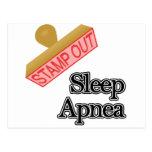 Sleep Apnea Postcard