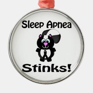 Sleep Apnea Stinks Skunk Awareness Design Ornaments