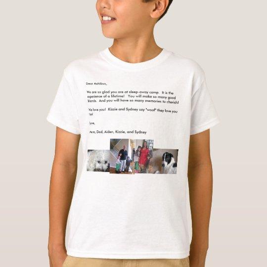 SLEEP-AWAY CAMP T-SHIRT- Personalize and Customize T-Shirt