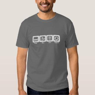 Sleep Bike Eat Repeat T Shirt