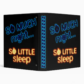 sleep vinyl binder