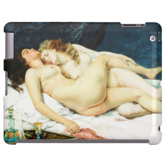 Sleep by Gustave Courbet