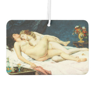 Sleep by Gustave Courbet Car Air Freshener