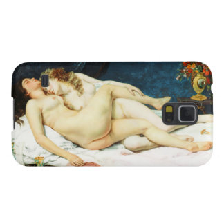 Sleep by Gustave Courbet Galaxy S5 Cases