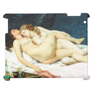 Sleep by Gustave Courbet iPad Cover