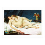 Sleep by Gustave Courbet Postcard