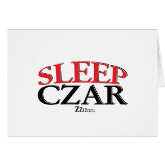 Sleep Czar Card