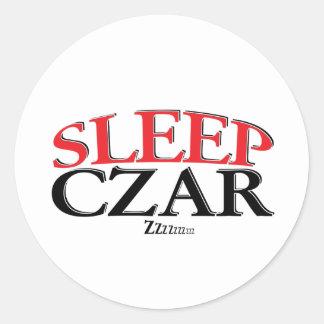 Sleep Czar Classic Round Sticker