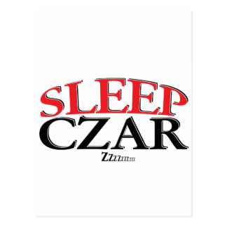 Sleep Czar Postcard