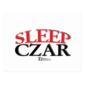Sleep Czar Postcard